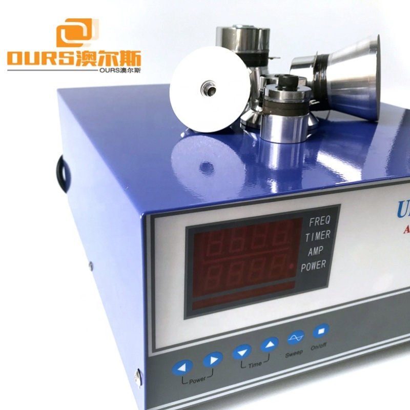 2400W Digital Display Ultrasonic Wave Generator For Industrial Parts Cleaning Machine