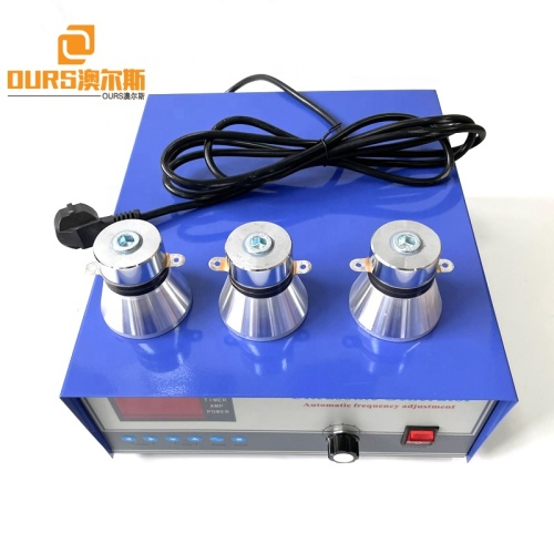 Factory Supply 28K 40K 1200W Single Frequency Ultrasonic Generator For Automotive Electroplating Plant Cleaning Parts