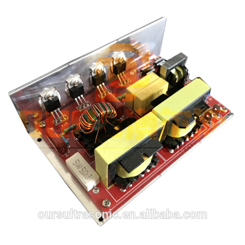 Ultrasonic cleaner parts PCB and generator