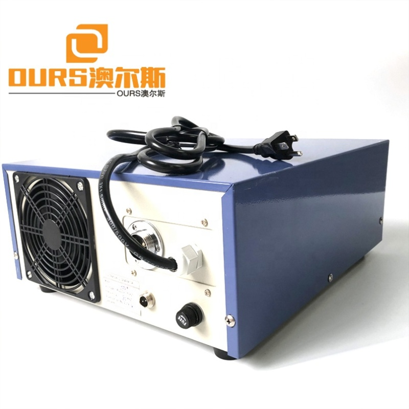 1200W High Power Pulse Ultrasonic Cleaner Generator Ultrasound Vibration Signal Generator For Oil Cleaning Tank 220V AC