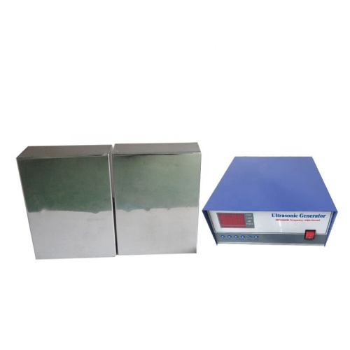 2400W Industrial Ultrasonic Cleaning Submersible Transducer and Ultrasonic Generator 40KHz/28KHz