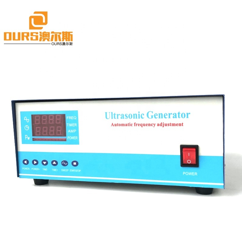 28K 2400W 110V Or 220V Digital Ultrasonic Cleaning Generator With Sweep Frequency For Ultrasonic Vibration Cleaner