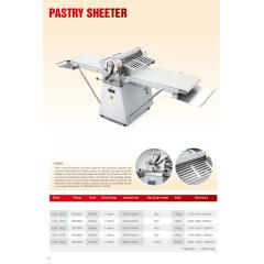 New Vertical Industrial Bread Dough Sheeter Desktop Crisp Machine/Pastry Food Mixing Machine for Sales