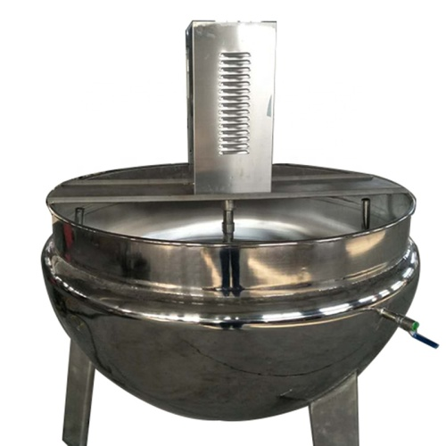 1000L  Gas / Electric / Steam Heating Jacketed Cooking Pot for Food Restaurant Sale