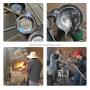 High-grade Frying Pans Handmade Round-bottomed Pot Without Coating Health Wok Gas Stove Zhangqiu Non-stick Iron Pan