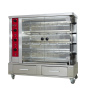 Stainless Steel Durable Rotating Chicken Turkey Peanut Meat Roaster With 2 Drawer For Sale