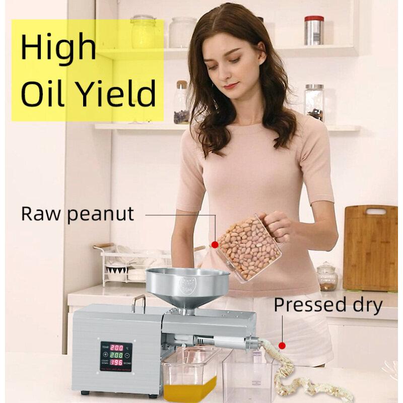 Vegetable Processing Plant Presser Palm Hot Sunflower Oil Press Machine