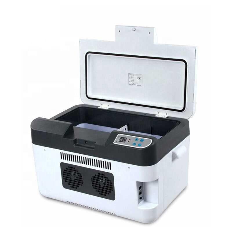 -3~-5 Degrees Below Zero,Heating 65 Degree, 25 L Dual-Use Cool/Heat Mini Car Refrigerators, Freezer