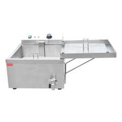 FY-T02 Commercial Electric Single Cylinder Oil Fryer Deep-Fried Machine Fry Machine French Fries Doughnut Fryer