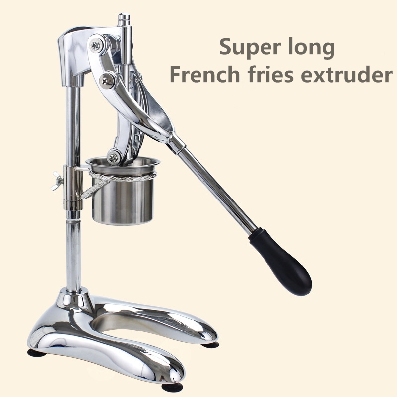 Manual Super Long French Fries Extruder For Commercial Household Stainless Steel 30cm French Fries Machine