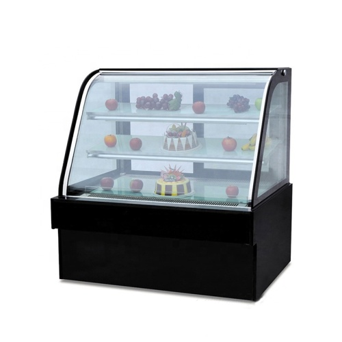 3 Layer Cake Display Showcase Chillers For Sale Cake Display Showcase Glass Display Showcase