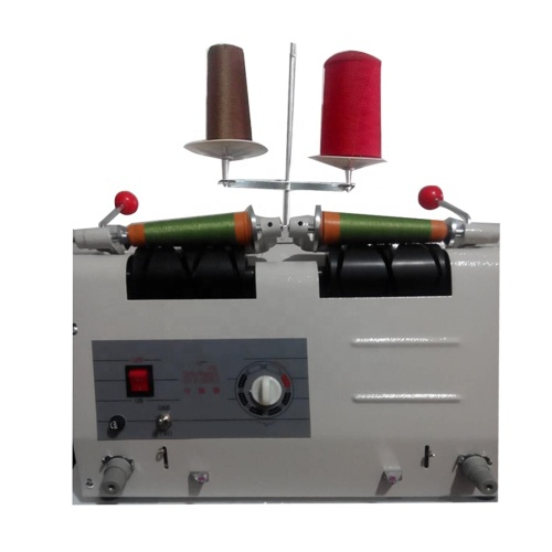 2 Pc/Time Computer Version Thread Roller Rolling Cloth Wire Winding Machine From Big Thread to Small Thread