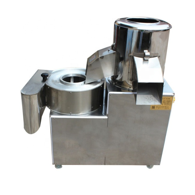 2018 Vegetable Slicing Commercial Potato Peeling Cutting Shredder Machine For Sale