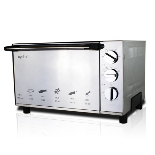 23L Home Baking Oven Stainless Steel Household Double Layer Door 8