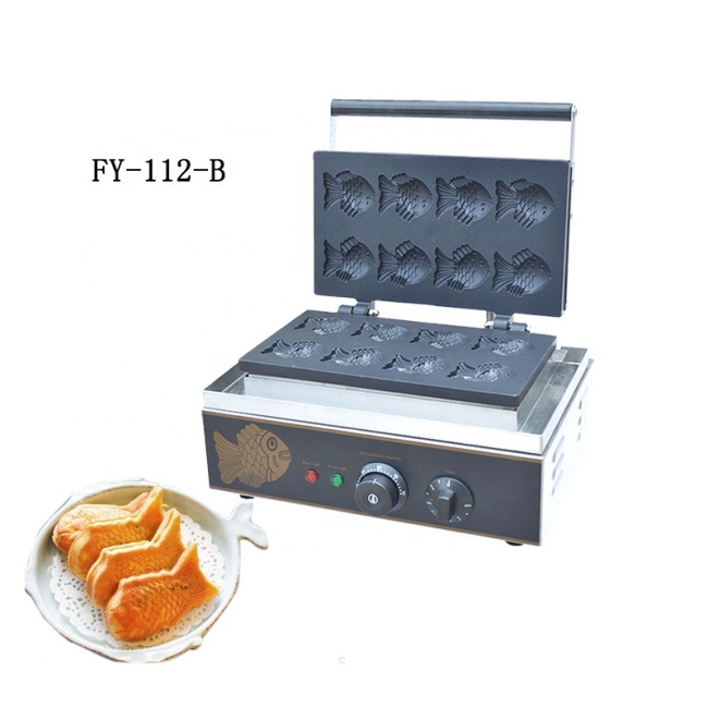 Korean Fish Cake Fast Food Electric Fish Shape Wallfe Maker Machine