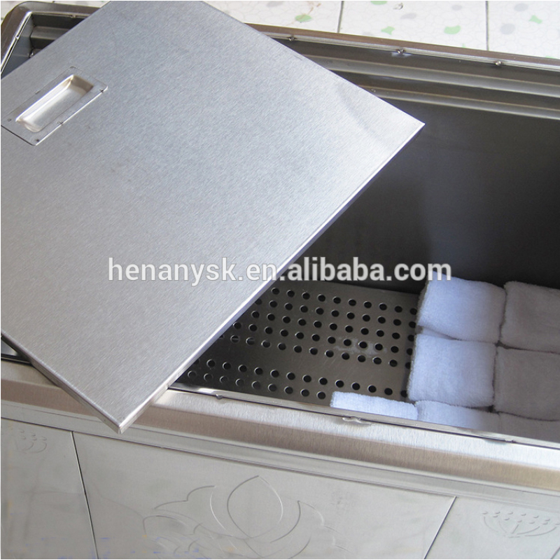 Large Stainless Steel Electric Heated Towel Steamer Steam-Heating Moisture and Warm Keeping Towel Heating Machine