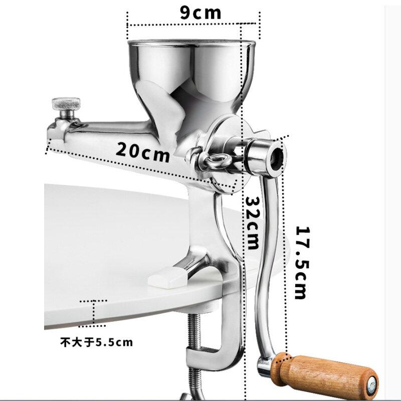 304 Stainless Steel Manual Juicer Wheatgrass Orange Ginger Pomegranate Household Hand Fruit Juicer Extractor