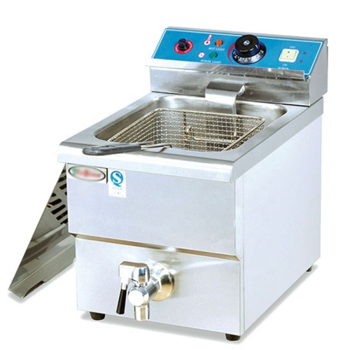 8L TABLE TOP Counter Electric Chicken Fryer With Thermostat
