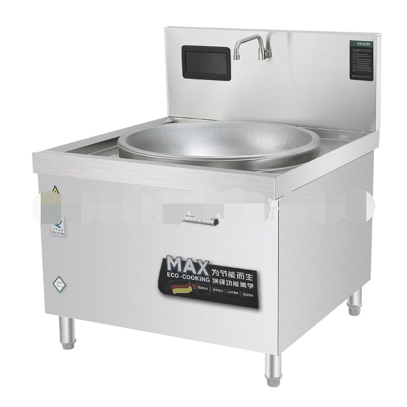 20kw Big pot stove Commercial Large Cooker For Many People To Eat High-power Fierce Fire Canteen Hotel Kitchen Equipment