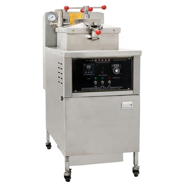Valuable Best Quality Gas Pressure Fryer Promotional chicken duck pressure fryer Price without pump