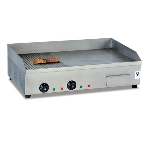 Electric Barbecue Flat Griddle Square Teppanyaki BBQ Grill