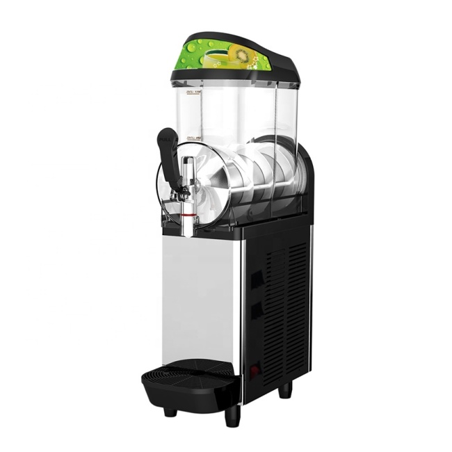 XC112A 12L Single Tank Commercial Slush Maker Cold Beverage Dispenser Plastic Drink Dispenser Machine