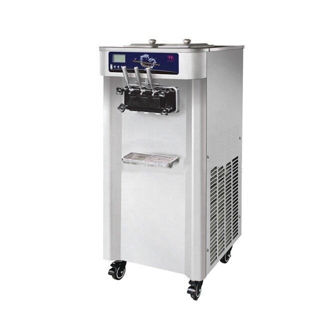 3122A 25-30(L/H) Soft Rainbow Ice Cream Maker Home And Business Ice Cream Machine