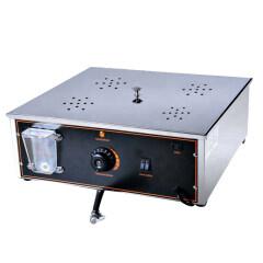Commercial Electric Soup dumpling Baos Steamed Stuffed Bun Samosa Furnace Four Hole Small Steamer