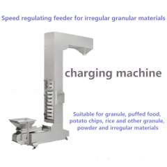 Z-type Bucket Elevator Speed Regulating Feeder Vertical Continued Conveyor For Irregular Granular Materials Charging Machine