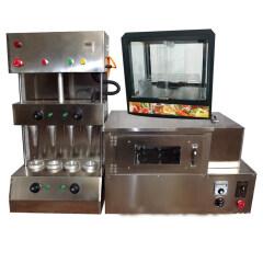 Cheese Plastic Kono For Sale Corn Rolling Incense Making Mini Cono Wafer Dough Press Pizza Oven Ice Cream Price Machine Cone