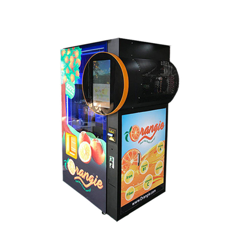 Wholesale Automatic Orange Juicer Dispenser Vending Machine Automatique High Technical Vending Tools TO Saudi