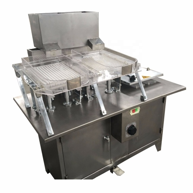 255 PCS Cavity Gelatin Capsule Filling Machine
