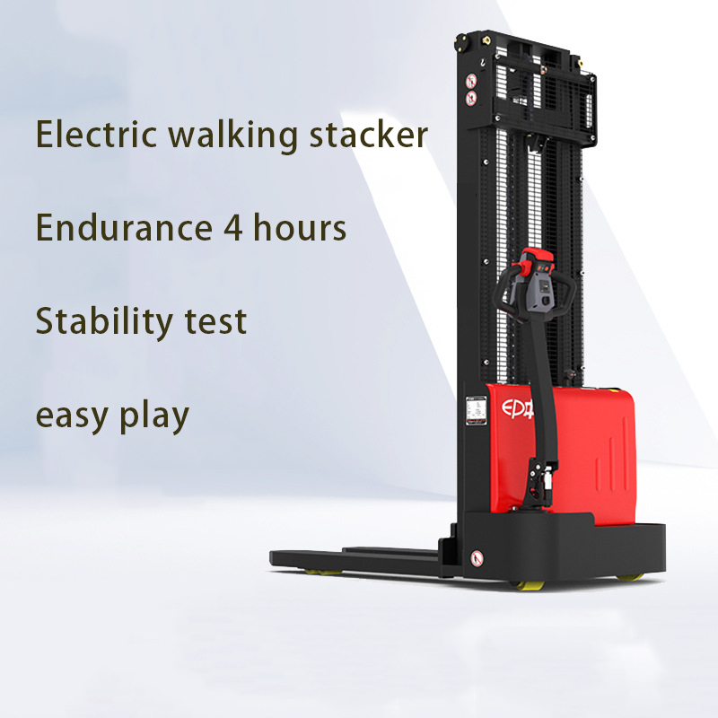 1.5t 3m Automatic Walking Electric Stacker Forklift