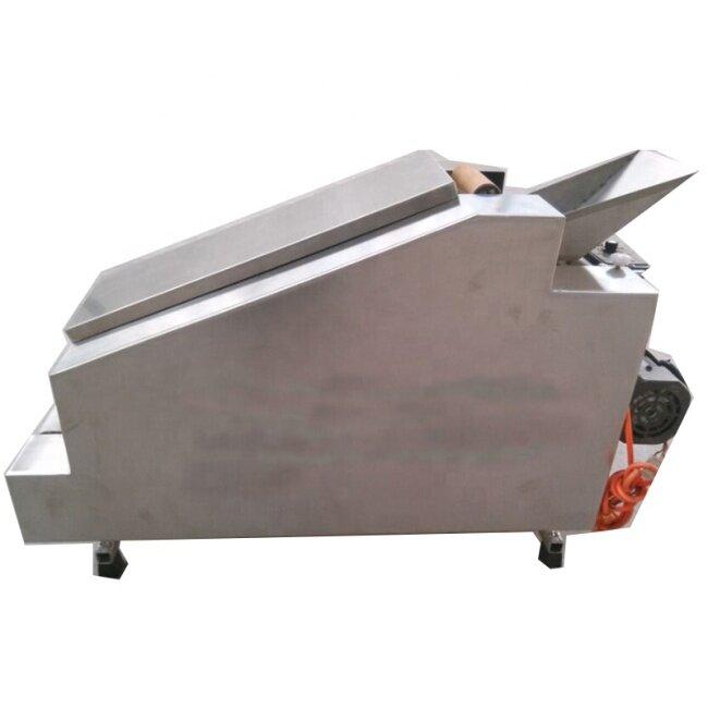 High Efficiency Household Dumpling Wrapper Machine Safety Sanitation Easy Control Dumpling Skin Machine