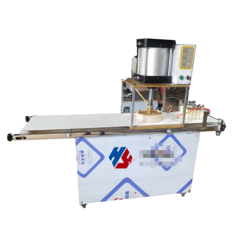 Commercial electric high-quality multi-functional conveyor belt pizza press machine