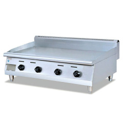 Stainless Steel Flat Pan GAS GRILL Griddle PLATE Machine Bread Grill Food Machine