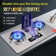 Double 9 gun NG stove +$7.50