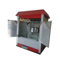 IS-VBG-1608 Commercial Electric Small Popcorn Maker Popcorn Making Machine Can Order Cart
