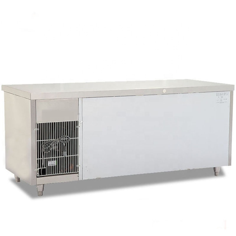 High Quality Under Counter Display Refrigerator Glass Door Undercounter Freezer