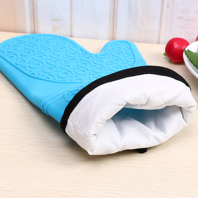 151g Silicone Gloves Supply Multifunctional Kitchen Cleaning Gloves Silicone Anti Scald Gloves Bakery usage too