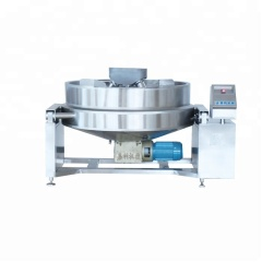 New Fully Automatic Large Standard Electric  SS304 Vertical Oil Jacketed Planetary Cooking Pot