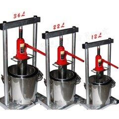 Exprimidor hidráulico manual de uva de acero inoxidable, trituradora de jugo de gato, exprimidor de jugo de uva / vino, venta
