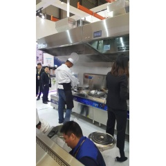 Silver Hood Led  Tempered  Stainless steel Material Origin range hood filter Environmental  Commercial restaurant hood