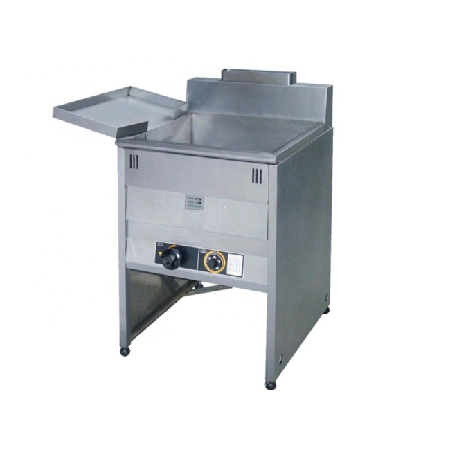 30L/Tank KFC Gas Fried Chicken Fryer POTATO CHIP FRYING PAN