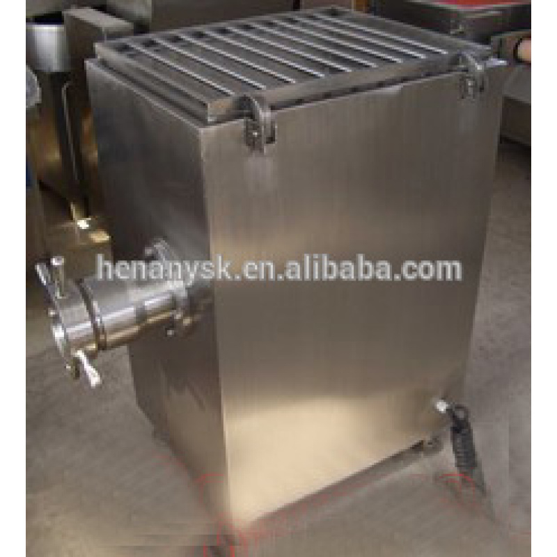 Commercial Frozen Meat Grinder Essential Equipment for Meat Processing Work with Meat Mixer