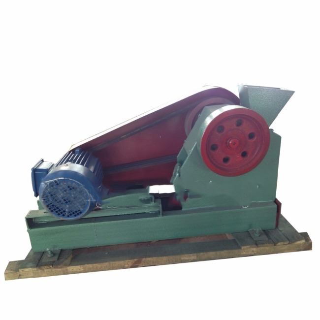 PE100*60 Small Jaw Crusher For Glass Stone Chemical Crushing Machine