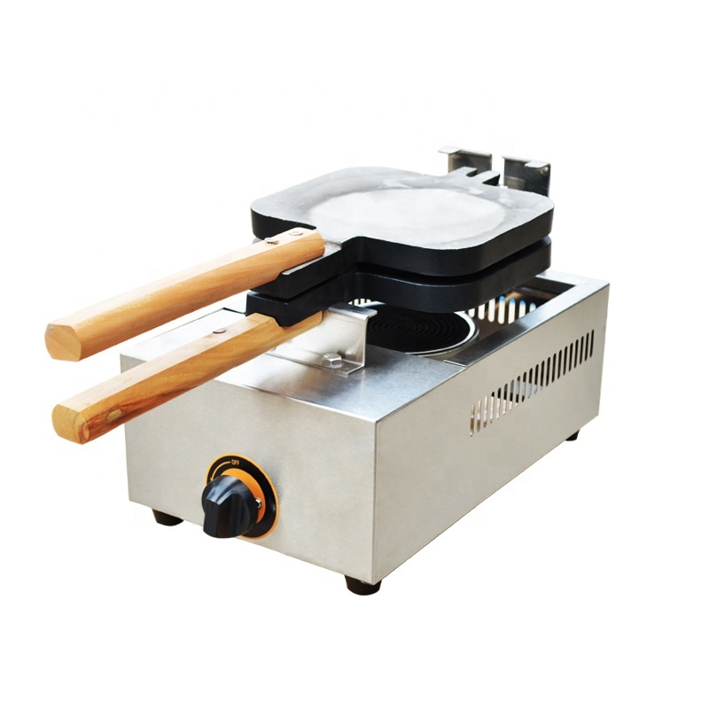 New Stainless Steel Snack 2pcs Gas Taiyaki Machine Fish Waffle Machine for Sale