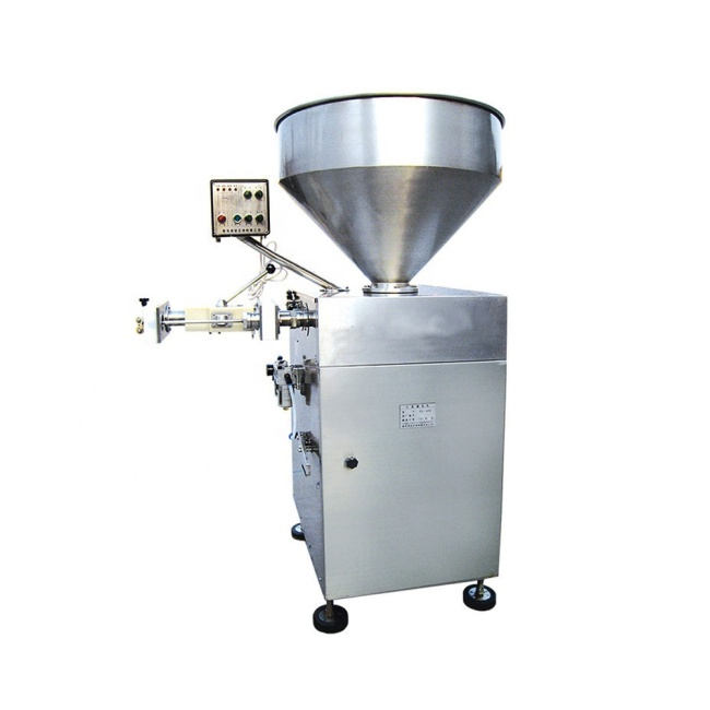 NDG-400 New Automatic Sausage Stuffer Machines Filling Filler Stuffing Twisting Making Machine Equipment