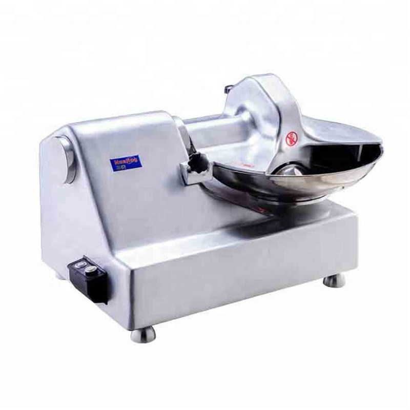 Commercial Multifunction Full Automatic High Speed Chopping Food Meat Vegetable Chopper Bowl Cutter Machine