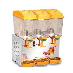 PL-351A Refrigerator 3 Tanks Juice Cold Drink Dispenser Machine